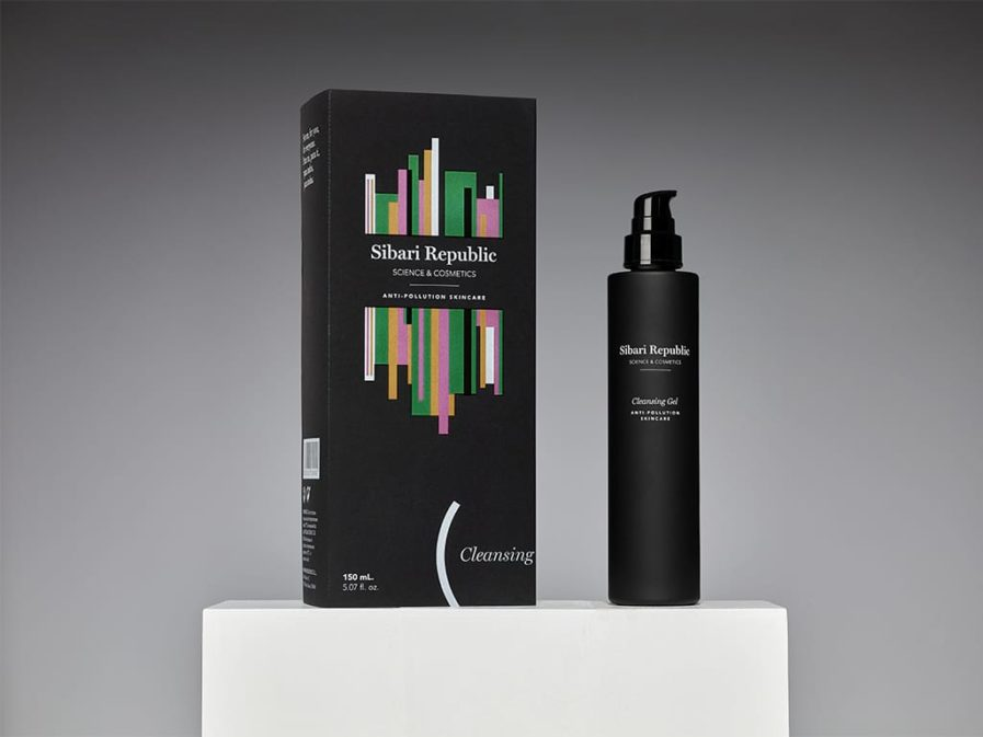 Producto y packaging anti pollution cleansing gel
