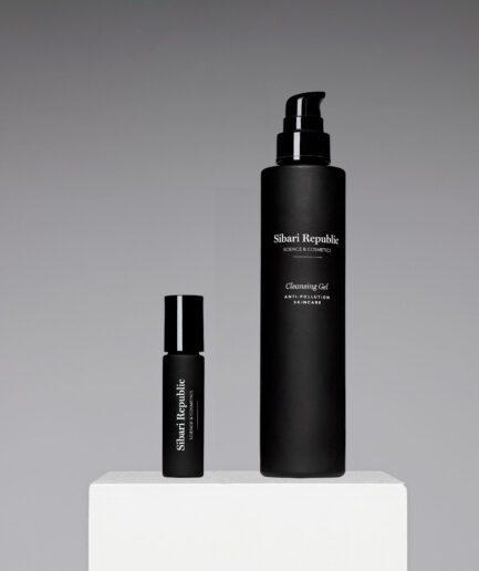 pack anti fatigue eye contour y anti pollution cleansing gel