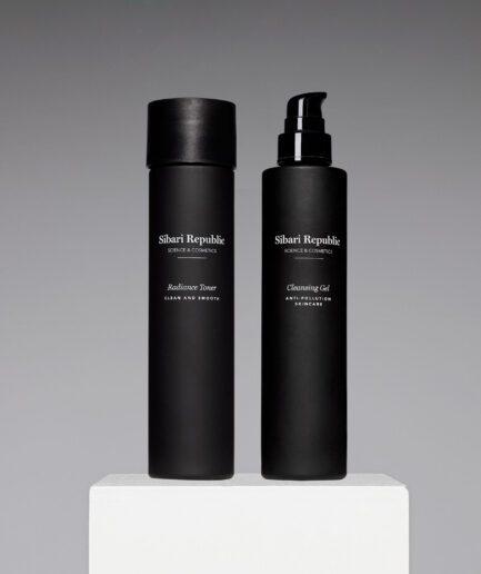 pack anti pollution cleansing gel y radiance toner