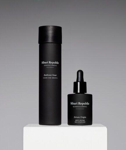 pack serum origin y radiance toner